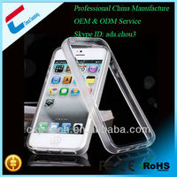 transparent flip case for iphone 5 5s hot new products for 2014
