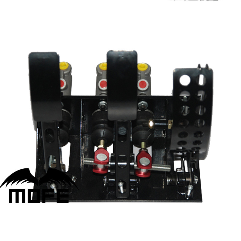 "Auto Parts Hydraulic Handbrake Pedal Box For Master Cylinder 0.625"", 0.7"", 0.75"",0.875"",1"""