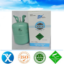Industrial Grade Grade Standard 13.6kg /30lbs r134a refrigerant gas 99.99% Purity with good price