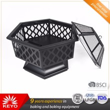 Comfortable Design Charcoal Grill Oven Garden Treasures Fire Pit