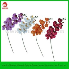 "39"" Hanging Artificial Flower(9FLWS),Giant Artificial Orchids,Long Stem Phalaenopsis Orchids"