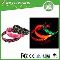 Nylon LED Shining Dog Collar Light For Safety