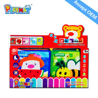 2015 New product Funny Crib Toys cartoon story fabric book Safe non-toxic Early childhood educational toys Accepted OEM
