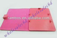 Fashion belt leather universal case cover for new iPad 3 and 2