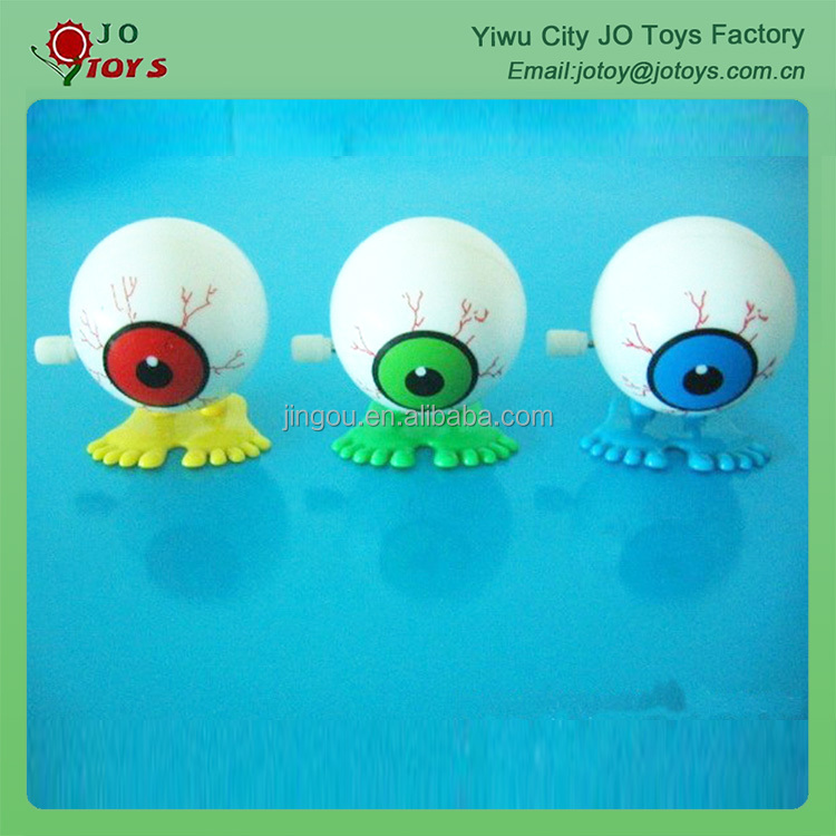 Plastic wind up face toy capsule toy