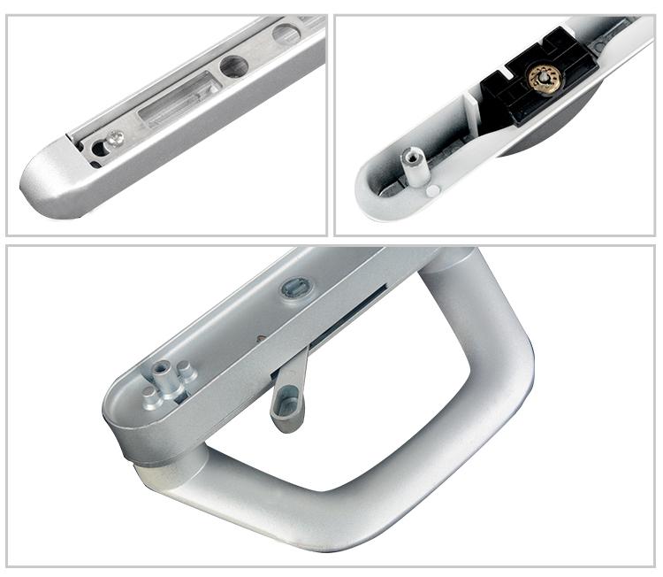 High quality with best price aluminum sliding door for Best quality door hardware