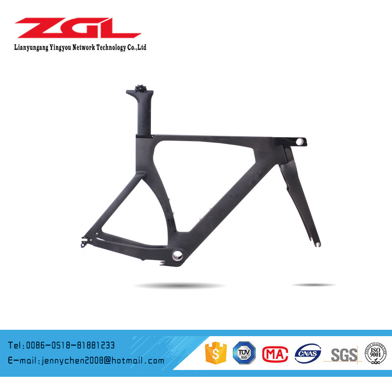 700C Carbon Fiber Road Racing Bicycle Bike Frame TT Carbon Frame OEM CTT 04