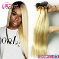 Distributors Wanted Top Grade 8A Shiny Soft Ombre Blonde 100% Virgin Raw Hair Natural Straight