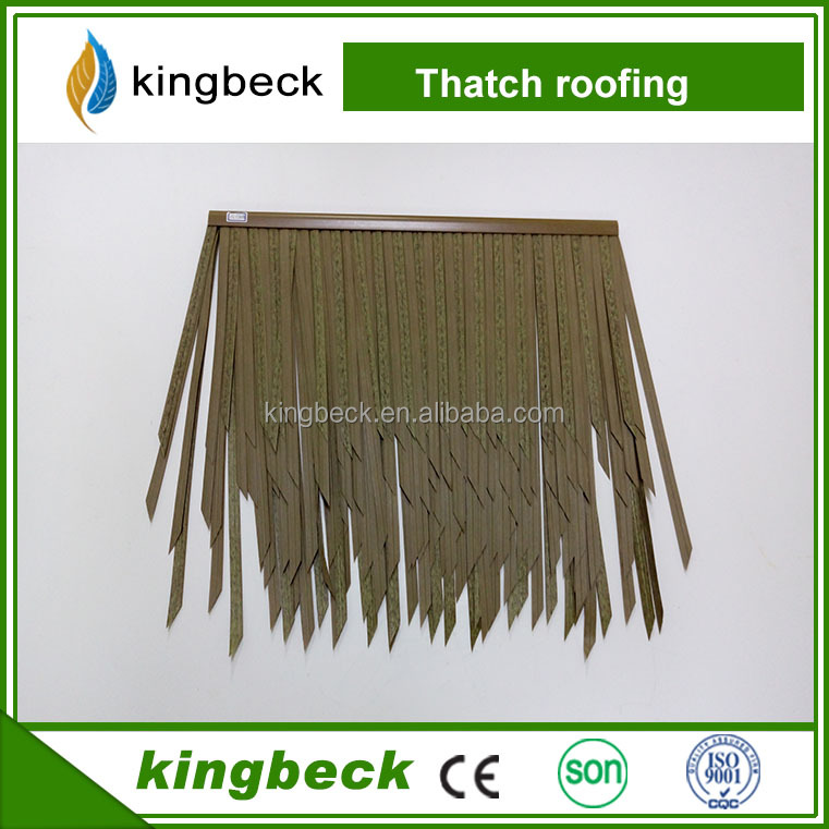 Thatch roof/thatch villa plastic roof tile artificial decoration synthetic thatch