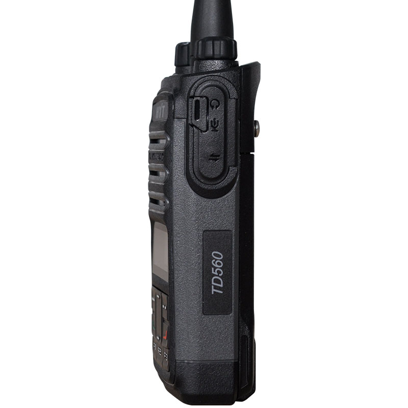 HYT TD560 walkie talkie digital model compatible hotel mall outdoor commercial digital walkie - talkie