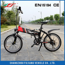 FUJIANG 2015 Hi-tech electric bike, electric bike kit, electric pocket bike with EN15194