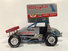 custom made 1/24 dirt wing sprint racing car diecast accessories collectibles