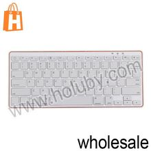 Plastic Wireless Bluetooth Keyboard For iPad 2 the New iPad iPad 4 iMac