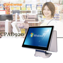 15inch Points dual touch screen POS system all in one POS terminal