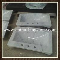 Cheap Chinese round marble sink different types