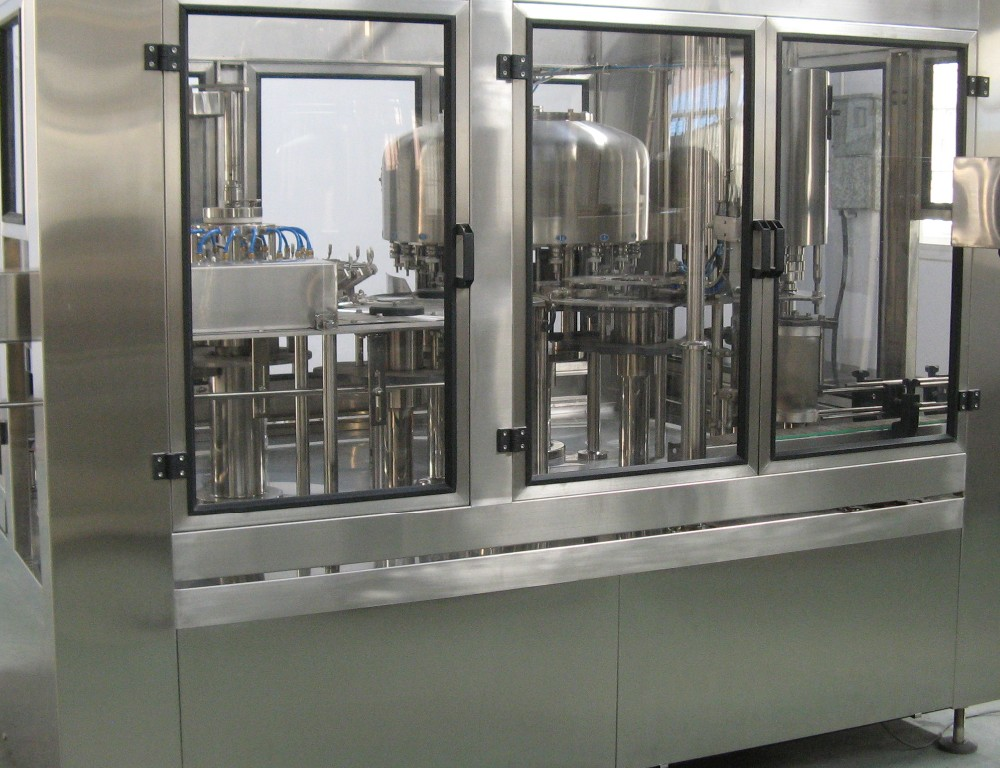 Small bottling mineral water production plant line