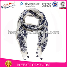 Fashion Made Many Kinds Of Custom Embroidery Scarf Designs