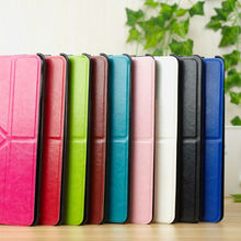 Hoe selling magnetic smart case for ipad4 /3 /2 with stand , for ipad leather flip case cover