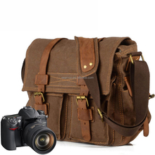 OEM manufacturer custom camera Canvas bag camera shoulder bag