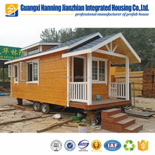 Beautiful Luxury Firm Portable Prefabricated Wooden Log House