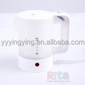 TRAVEL ELECTRIC KETTLE 0.5L (Half liter) Stainless steel plate concealed heating element