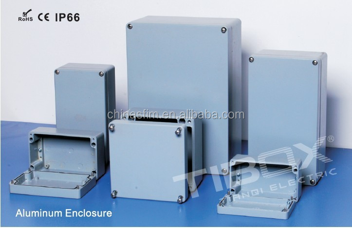TIBOX Electrical waterproof aluminum junction box with all kinds of sizes