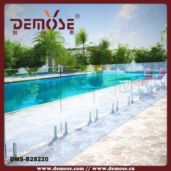 Used fence panels pool plexiglass fence pricing buy for Plexiglass pool fence