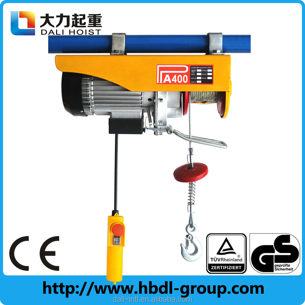 400KG Hoist Lifter 220v mini type portable lifting hoisting crane