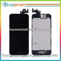 Original New For Iphone 5 Mobile Phone Lcd Complete,Accept paypal