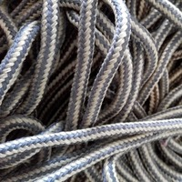 Polypropylene shoelace braided rope