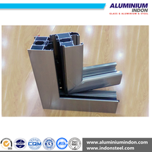 thermal break aluminum window extrusion profile with different surface treatment
