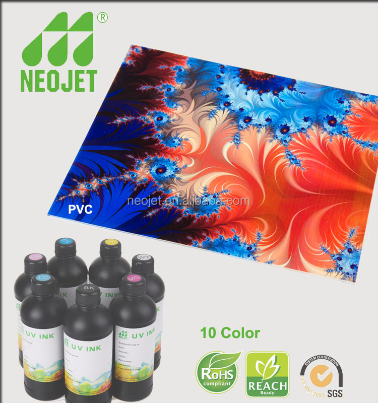 Factory direct sales ultraviolet curing ink for Epson 4880 7880 digital printer flexible or rigid media printing