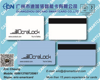 M1 Hotel key card with HI-CO Magnetic stripe F08