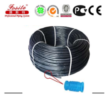 Agricultural drip pipe tapes and fittings for farm and garden irrigation