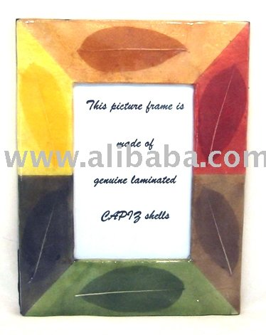 Capiz Picture Frame Pf525
