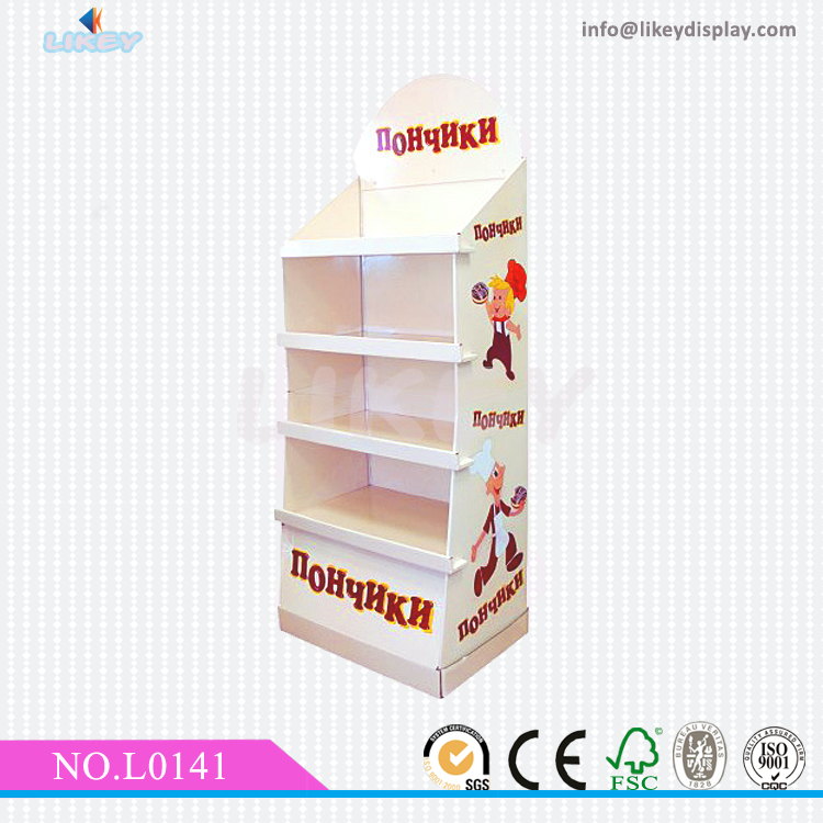 Advertising Cardboard Chocolate bar Display Stand