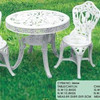 Outdoor Plastic Public Garden Furniture With