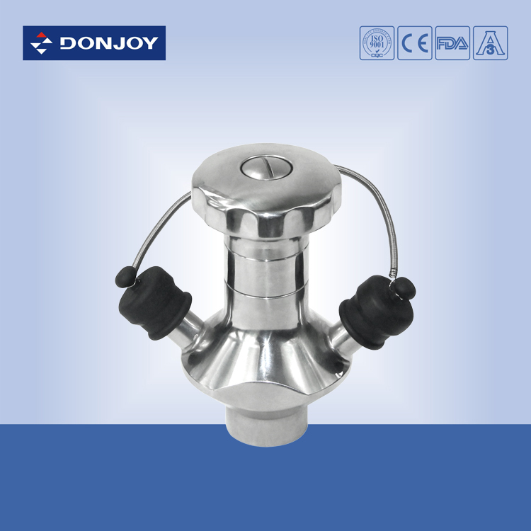 stainless steel sanitary pneumatic aseptic sampling valve