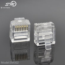 short network rohs electrical male plug rj 45 8 pin connector