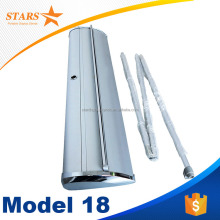 Top Quality Aluminum Roll Up Banner Size , Moving Roll Up Banner Stand Model 18