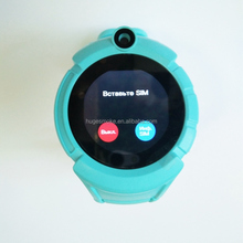 MTK2503 1.4 inch touch screen q360 kids gps watch support Russian language