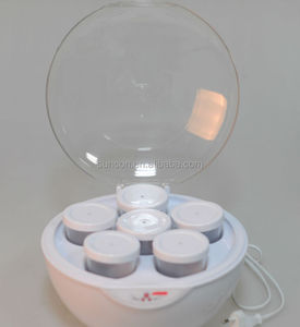 35W, with 6 glass cups, electric mini yogurt maker