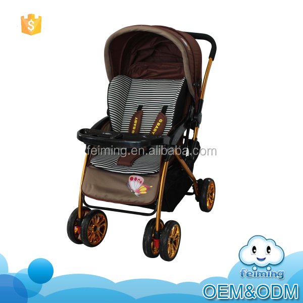 The new style baby doll stroller with reversible handle and good quality standard