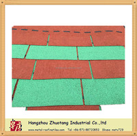 High Quality 3-Tab Fiberglass Shingle tiles