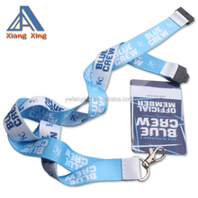 Hot sale custom thick lanyard with id card holder