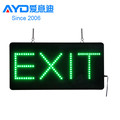 christmas hot sale high quality acrylic exit sign led open sign board led sign