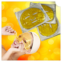 Private label gold anti-aging bio-collagen cosmetic facial mask