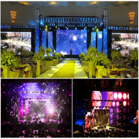 [Low Price] stage background led display big screen Price