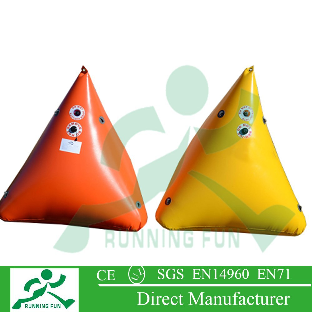 inflatable floating marker buoy with aqua park RF04