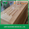 Different species wood veneer door skin
